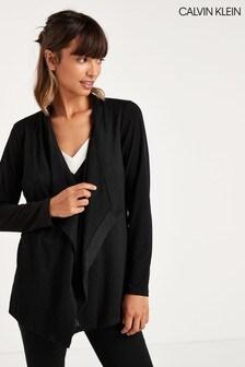 Calvin Klein Black Flyaway Jacket