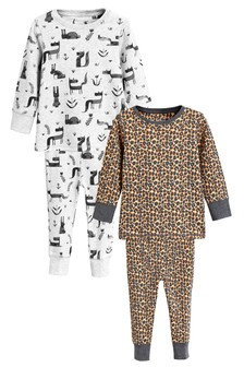 Character Snuggle Fit Pyjamas Two Pack (9mths-8yrs)