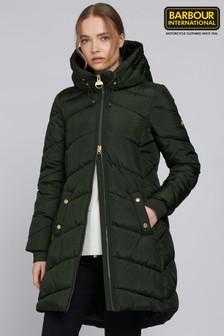 Barbour® International Braeside Longline Quilted Coat