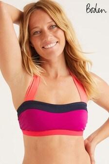 Boden Purple Santorini Bikini Top