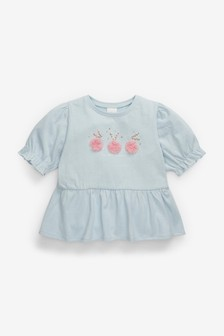 'Fun With Friends' Bunny Top (3mths-7yrs)