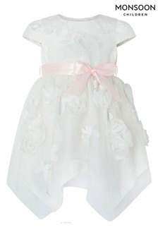 Monsoon Baby Leilani Ivory Dress