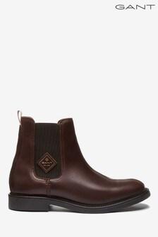 GANT Brown Ashley Chelsea Shoes