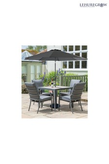 Milano 4 Seater Dining Set By Leisuregrow