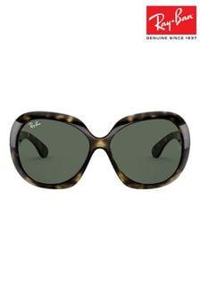 """Ray-Ban® Übergroße Schildpatt-Sonnenbrille """"Jackie Ohh II"""""""