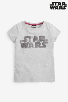 Star Wars™ Licence Flippy Sequin T-Shirt (3-16yrs)