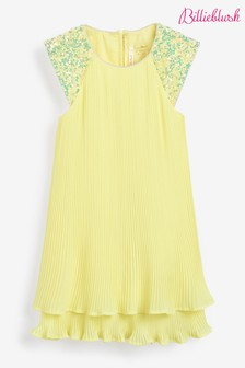 Billieblush Yellow Frill Dress