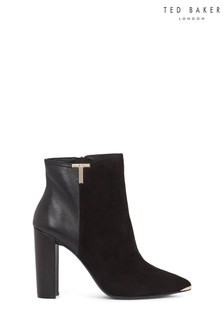 Ted Baker Black High Boots