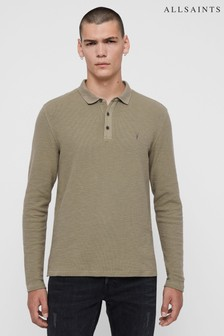 AllSaints Muse Green Polo