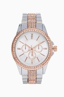 Sparkle Boyfriend Style Watch