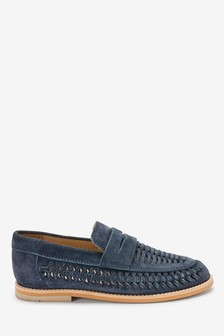 Nubuck Woven Loafers (Older)