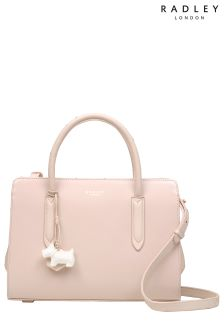 Radley Pale Pink Liverpool Street Medium Zip Top Multiway Bag