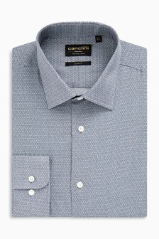 Signature Canclini Print Shirt