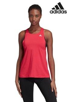 adidas Pink D2M All Print Vest