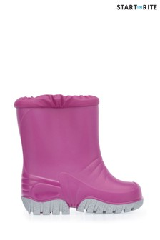 Start-Rite Pink Baby Mudbuster Shoes