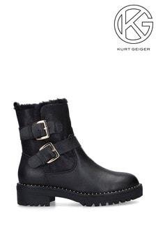 Kurt Geiger Sybil黑色短靴