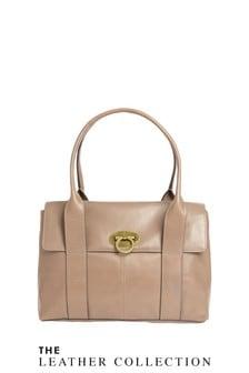 Signature Leather Tote Bag