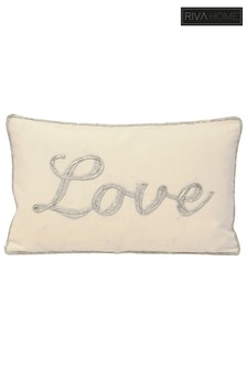 Christmastide Love Cushion by Riva Home