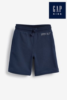 Gap Navy Logo Shorts