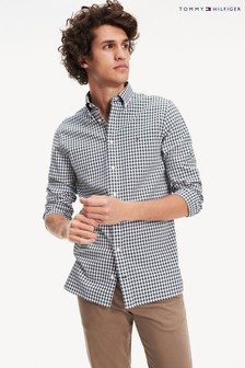 Tommy Hilfiger Green Classic Gingham Shirt