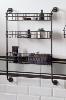 Bronx Three Tier Wall Shelves
