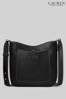 Lauren Ralph Lauren Cameryn Leather Medium Cross-Body Bag