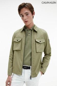 Calvin Klein Green Light Shirt Jacket