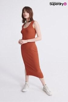 Superdry Midi Split Dress