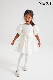 Ivory Taffeta Bridesmaid Dress (3mths-7yrs)