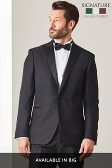 Signature Textured Tuxedo Tailored Fit Suit