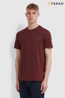 Farah Red Danny Ss T-Shirt