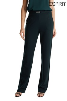 Esprit Structured Twill Pants
