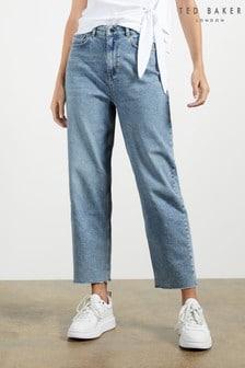 Ted Baker Kennidy Vintage Wash Straight Leg Jeans