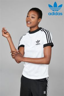 adidas Originals White Football Tee