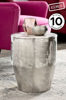 Loxley Drum Barrel Side Table