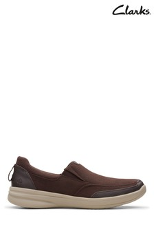 Clarks Brown StepStrollEdge Shoes