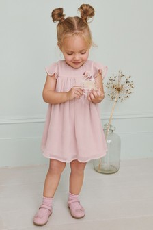 Corsage Dress (3mths-7yrs)