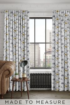 Izzy Sunflower Yellow Made To Measure Curtains