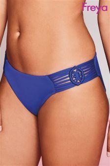 Freya Cobalt Blue Macrame Bikini Brief