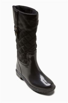 Quilted Wellington Boots (Older)