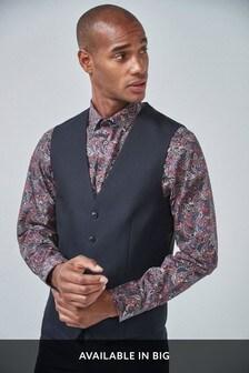 Textured Suit: Waistcoat