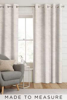 Darby Sand Natural Made To Measure Curtains