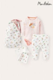 Boden Ivory Pets Organic Newborn Set