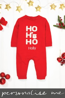 Personalised Christmas Romper