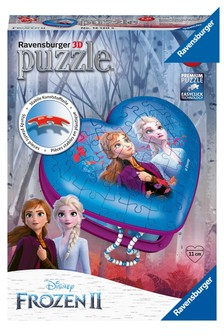 Ravensburger Disney™ Frozen 2 3D Heart Shaped 54 Piece Jigsaw Puzzle