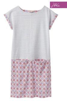 Joules Blue Stripe Karolina Jersey Dress