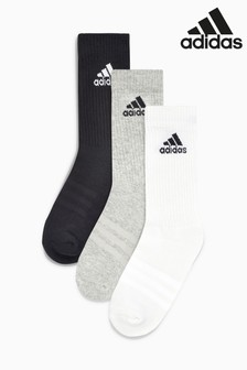 adidas Kids Training Crew Socks Three Pack