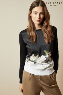 Ted Baker Black Opal Printed Jumper