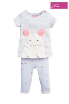 Joules Poppy Appliqué Set