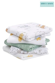 aden + anais Essentials Muslin Squares Five Pack- Winnie + Friends